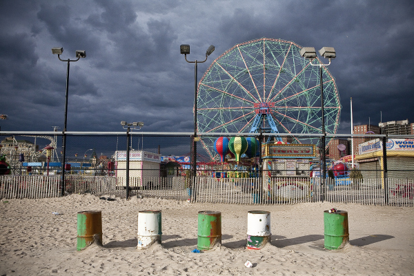 Hurricane Sandy Coney Island